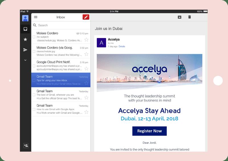 Accelya emails