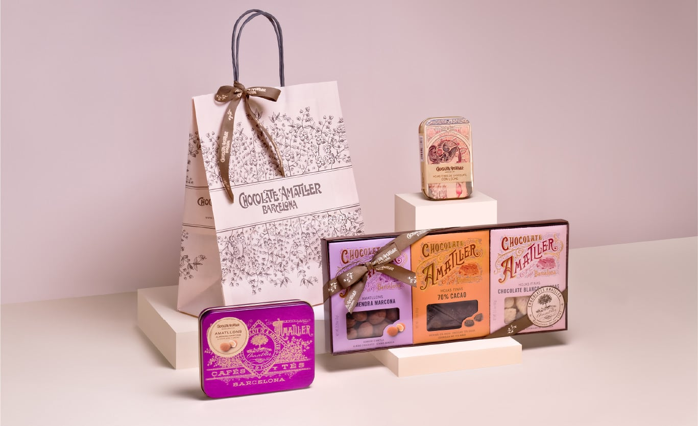 Chocolate Amatller website photo session