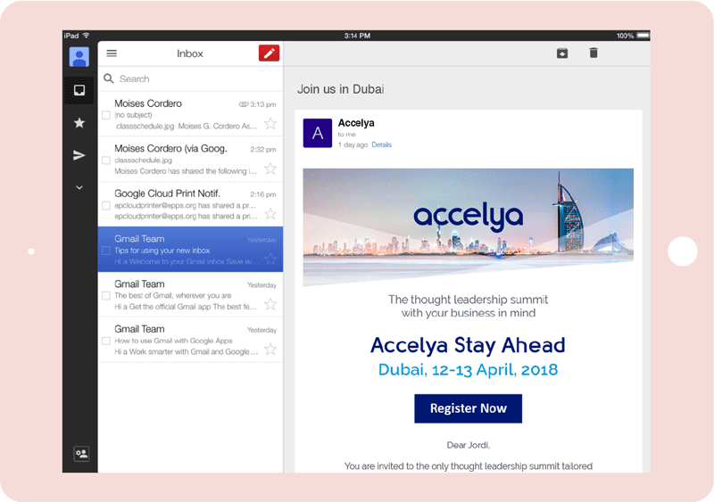 Accelya emails