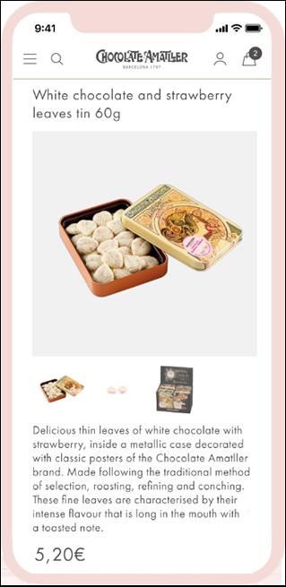 Mobile Chocolate Amatller